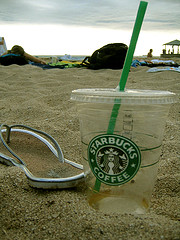 Starbucks at the Beach